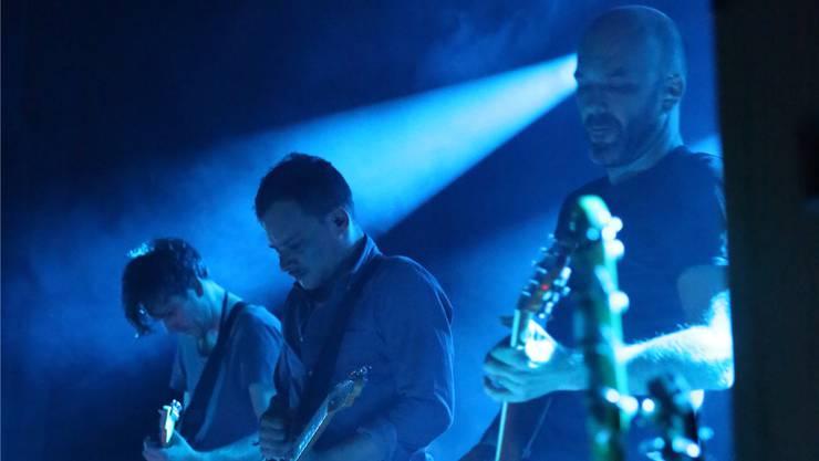 Die Aargauer Post-Rock-Band Leech kommt ans Open Air Mutterschiff 2019.