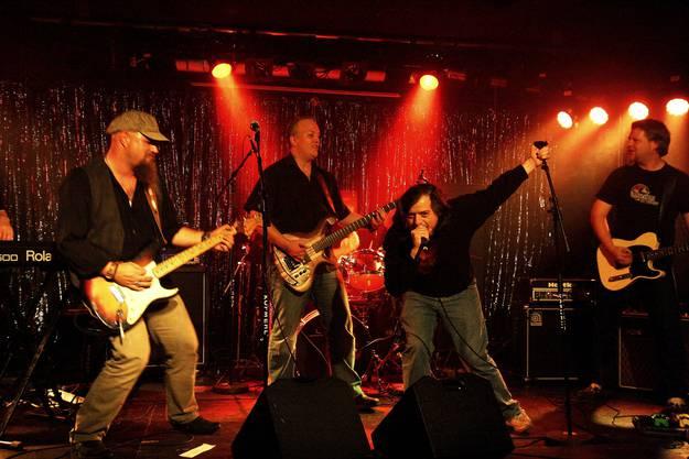 """Die """"Hardcore Blueband"""" war einer der Topact des Abends. (Fotos: Yvonne Kuhn)"""