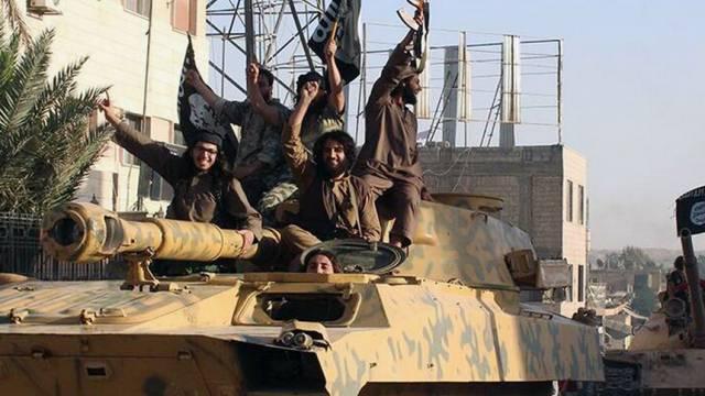 Kämpfer der Gruppe Islamischer Staat (IS) in Syrien