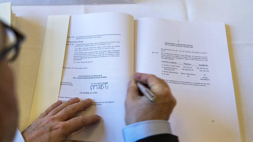 Wer soll künftig über Kündigungen von Staatsverträgen mitentscheiden dürfen? Diese Frage ist nach wie vor ungeklärt. (Themenbild)