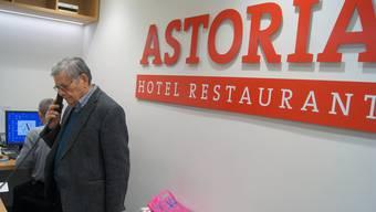 Abschied des Hotels Astoria in Solothurn