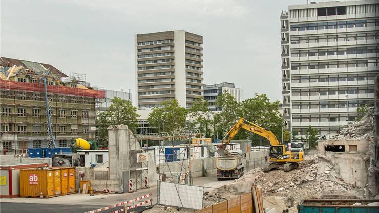 Grosse Entwicklungsareale in Basel sollen gemeinnütziger gestaltet werden. Im Bild: Das Lysbüchel-Areal.