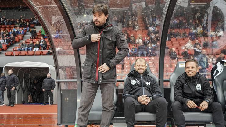 Wil-Trainer Sforza muss auf junge Spieler setzen.