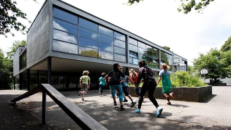 Das Schulhaus Wildbach ist der «Hauptprofiteur» der guten Rechnung 2011.
