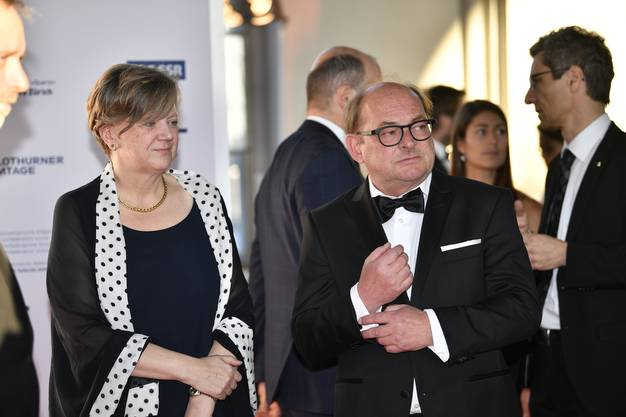 Ivo Kummer und Isabelle Chassot