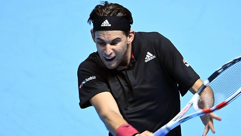 Dominic Thiem benötigte gegen Djokovic sechs Matchbälle