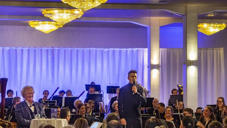 SinfonieON Orchester Niederamt Dirigent Hugo Bollschweiler Sprecher Peter Kner