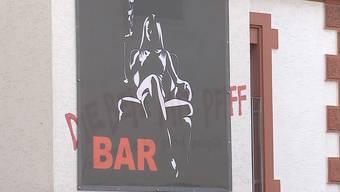 In Menziken gibt es neben Restaurants und Kaffees auch eine sogenannte Kontaktbar, von der die Gemeinde aber nichts wusste. Der Beitrag von Tele M1.