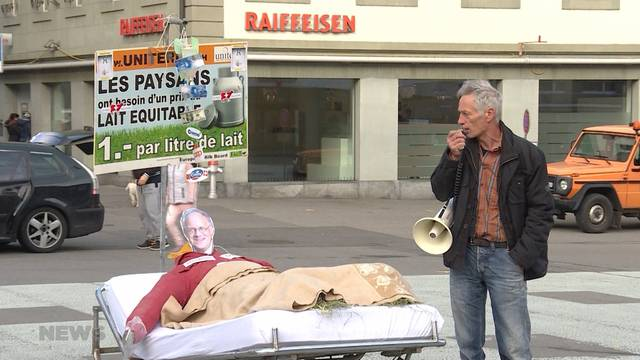 Milch-Protest
