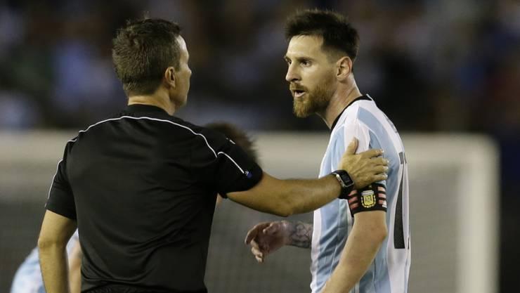 Lionel Messi darf schon im nächsten Spiel für Argentinien wieder auflaufen
