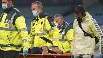 Für Granit Xhaka ist das Spiel mit Arsenal gegen Manchester City schon nach wenigen Minuten zu Ende