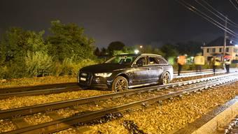 Die Mitarbeiter der Kantonspolizei Basel-Stadt nahmen dem Autolenker den Führerausweis vor Ort ab.