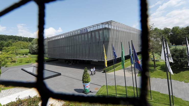 Die Bundesanwaltschaft hat Dokumente am Fifa-Hauptsitz beschlagnahmt.