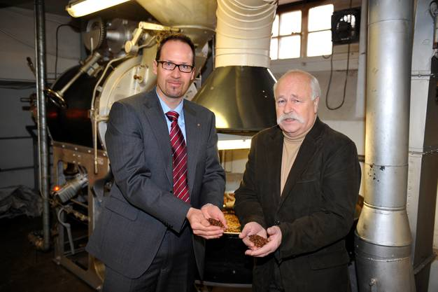 Bernhard Mollet und Hubert Oetterli