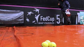 Geduldsprobe beim Fed Cup