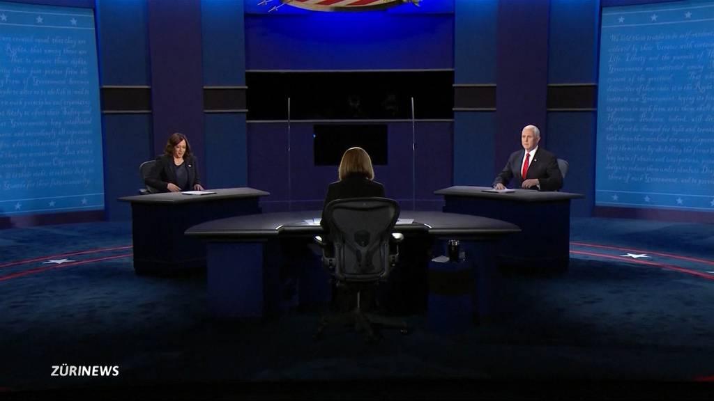 US-Präsidentschaftswahlen: Vize-Kandidaten halten gesittetes TV-Duell ab