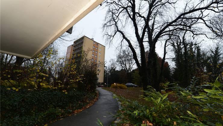 Auch die beiden «Hochhäuser» – auf dem Bild eines davon – werden der Spitzhacke zum Opfer fallen.