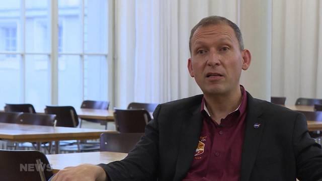 Thomas Zurbuchen gibt NASA Vortrag an der Technischen Fachschule Bern