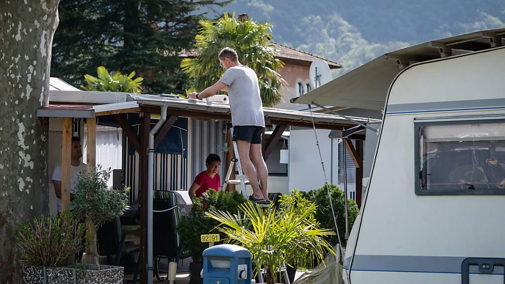Coronavirus beschert TCS-Campingplätzen einen Rekord