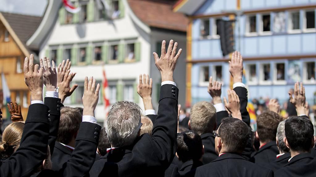 Innerrhoder Landsgemeinde abgesagt - Urnenabstimmung im August