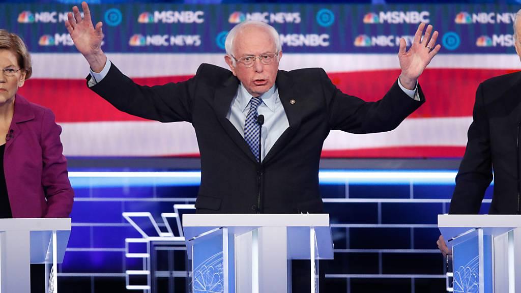 Russland will laut US-Behörden Bernie Sanders unterstützen