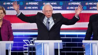 """""""Mir ist es ehrlich gesagt egal, wen Putin als Präsidenten will"""": der demokratische US-Präsidentschaftsbewerber Bernie Sanders. (Archivbild)"""