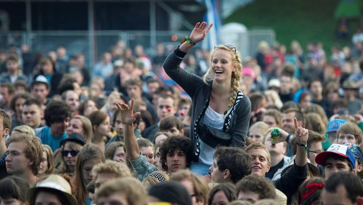 Tausende Musikfans freuen sich bereits wieder aufs Open Air St.Gallen.