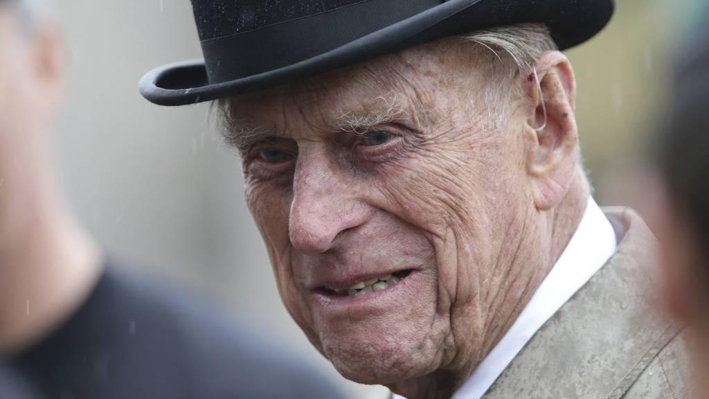 Prinz Philip stirbt im Alter von 99 Jahren