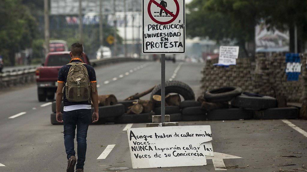 In Nicaragua ist ein Mensch bei einem Angriff von Bewaffneten ums Leben gekommen. (Archivbild)