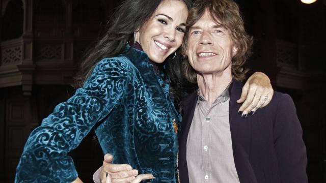 Mick Jagger und die verstorbene L'Wren Scott (Archiv)