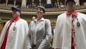 Ursula Schneider Schüttel wird als Nationalrätin vereidigt