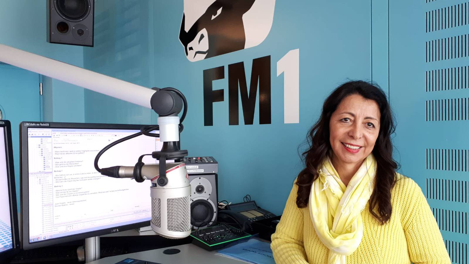 Bis Luz-Dalila Brunner 19 Jahre alt war, lebte sie in Venezuela.