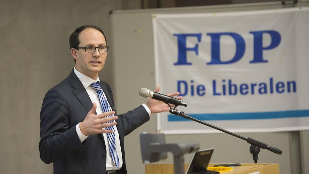 Die FDP will ihren Sitz mit Marc Mächler verteidigen.