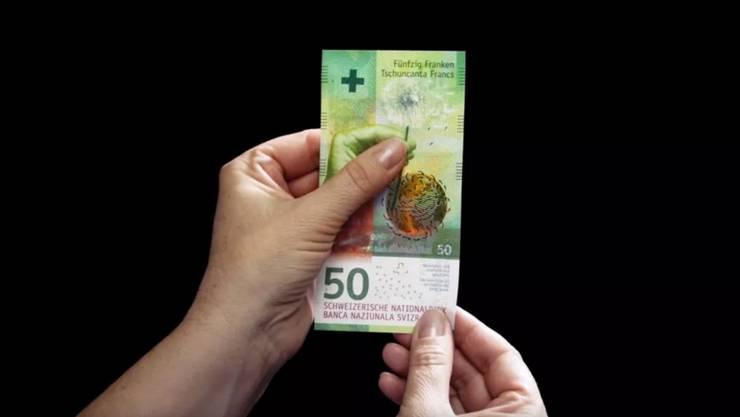 Die neue 50er-Note.