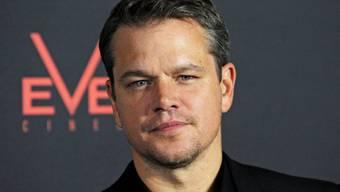 Stürzte beim Mountainbike-Fahren: Matt Damon (Archiv)