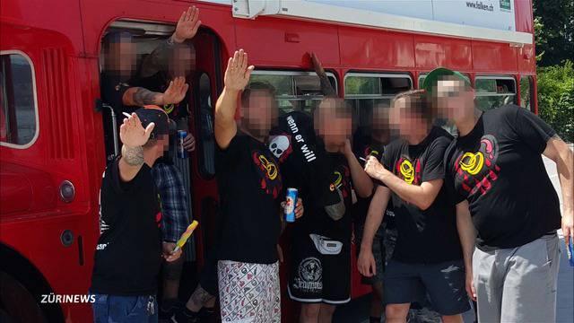 Busfahrt mit Neonazis: So erlebte der Chauffeur den Polter-Abend