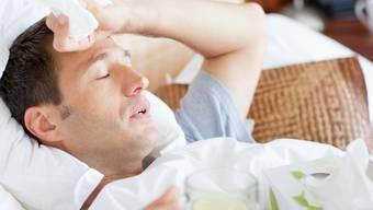 Die Männergrippe: Per Definition wird dabei «die Schwere der Symptome übertrieben».