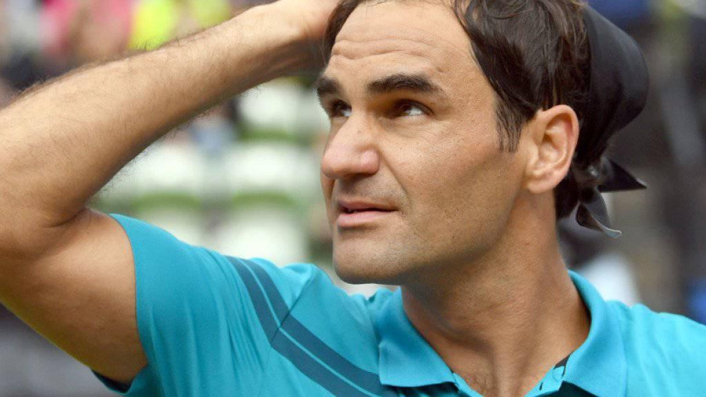 Roger Federer spielt am Freitag im Viertelfinal gegen Guido Pella