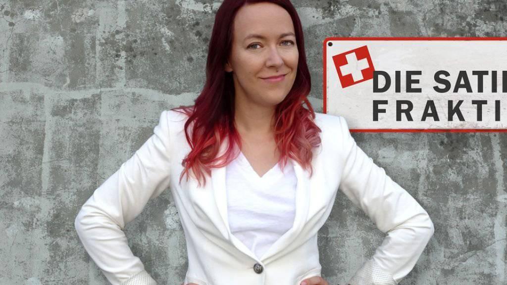 Die Berner Komikerin Lisa Catena will die Schweizer Satire bissiger, böser und schneller machen. Am 20. September startet ihr Radioformat «Die Satire-Fraktion». (Pressebild)