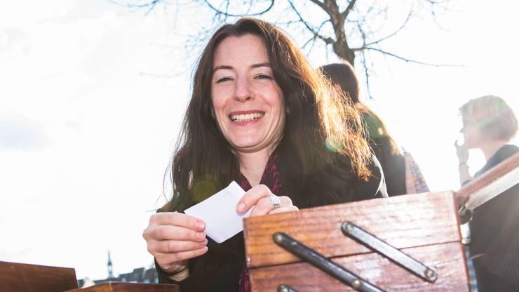 Tanja Soland, Finanzdirektorin Basel-Stadt: «Fotos von mir sind nicht so toll. Wenn ich fotografiert werde, bin ich deshalb immer ziemlich angespannt.»