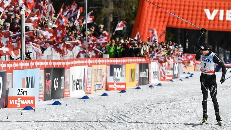 Dario Cologna hat das Siegen und das Selbstvertrauen wieder gefunden.