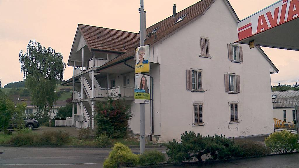 Aargauer Grossratsplakate im falschen Kanton