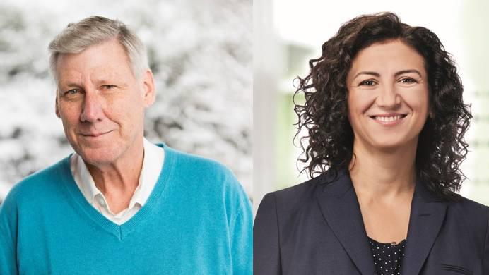 Adrian Leimgrübler (parteilos) und Songül Viridén (GLP) kandidieren fürs Schlieremer Friedensrichteramt.