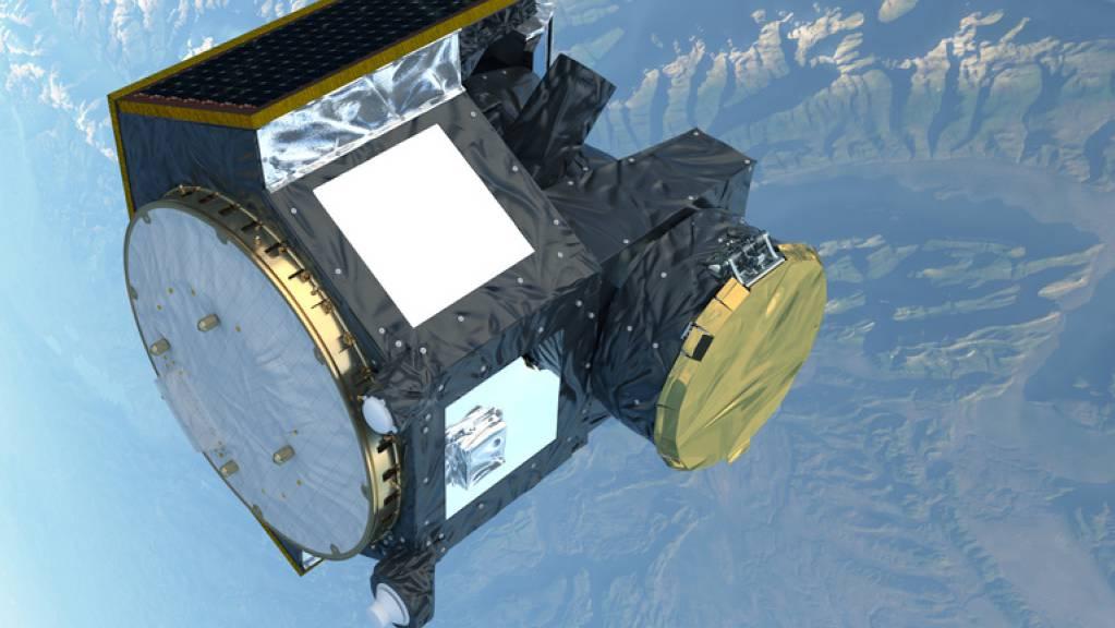 Der Countdown der Sojus-Rakete mit dem Cheops-Weltraumteleskop an Bord ist rund eine Stunde vor dem Start abgebrochen worden. (Archivbild)