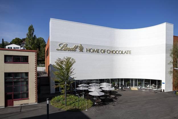 Das Lindt Home of Chocolate wurde in Kilchberg, Schweiz, feierlich eröffnet.
