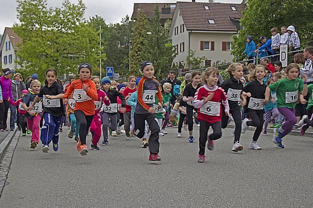 Für die jüngeren Läufer stand der Spass im Vordergrund.