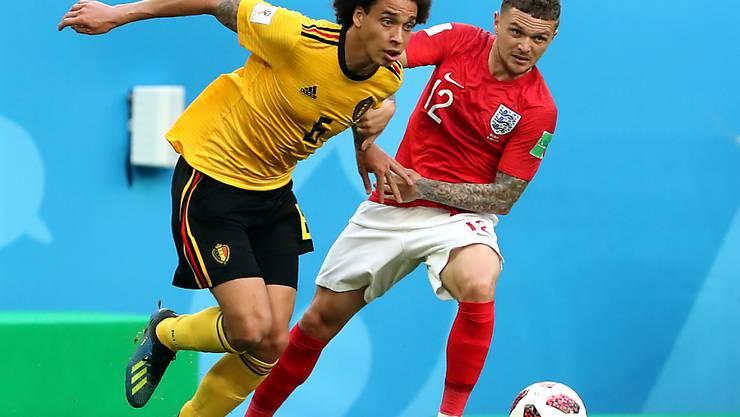 Trägt neu auch bei seinem Klub Gelb: Belgiens Nationalspieler Axel Witsel wechselt nach Dortmund (Archiv)