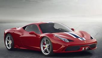Waren 2015 stärker gefragt: Ferrari-Autos. (Archiv)