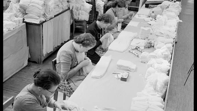 Aargauer Unterwäsche – bei Bise im Winter eine Wohltat