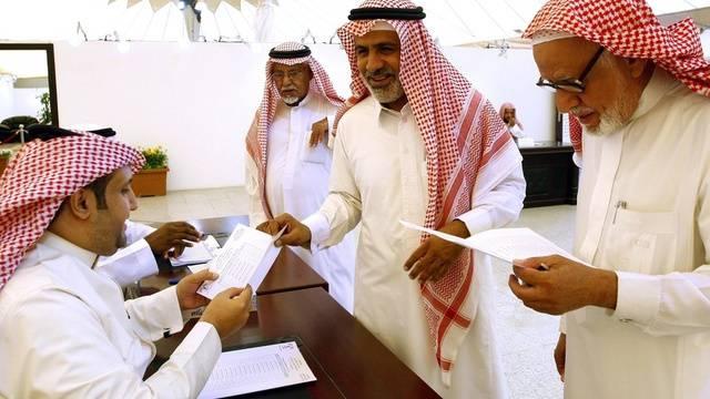 Ihre Frauen dürfen nicht wählen: Saudis in Riad